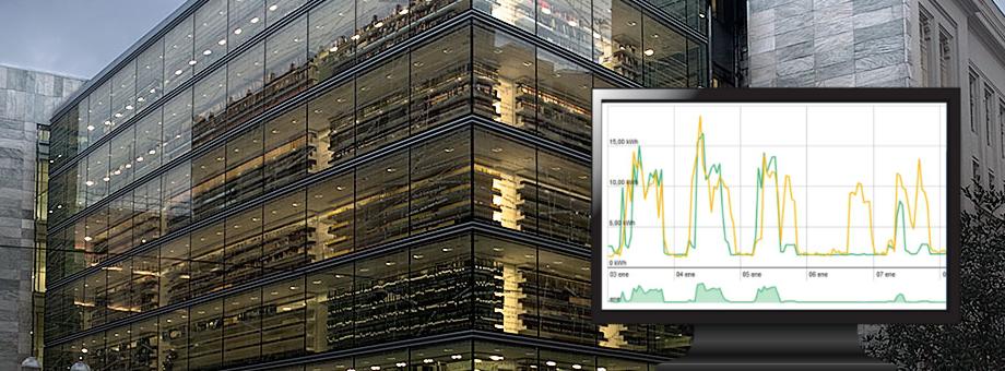 Monitorizacion energetica edificios
