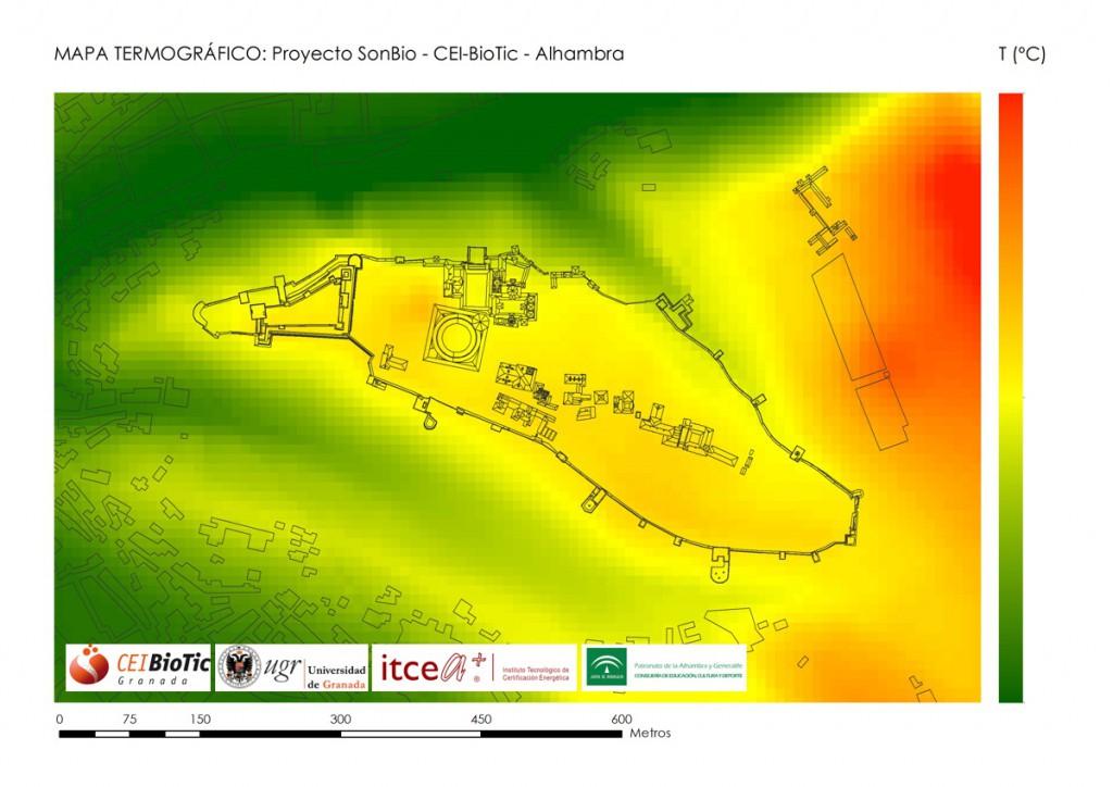 mapa termografico alhambra